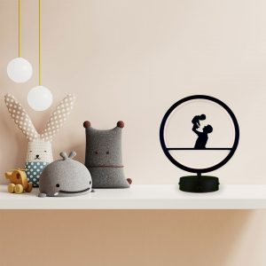 parbek baba ve oğul model masa lambası