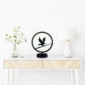 parbek kartal model masa lambası