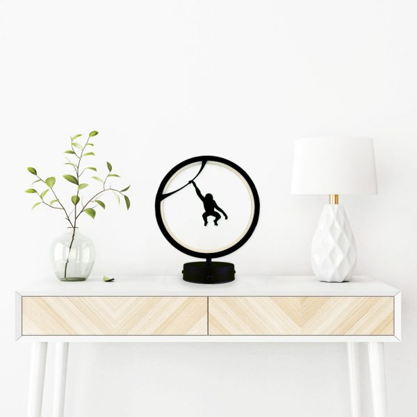 parbek maymun model masa lambası