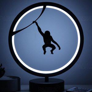 maymun model masa lambası