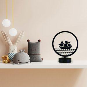 gemi model masa lambası