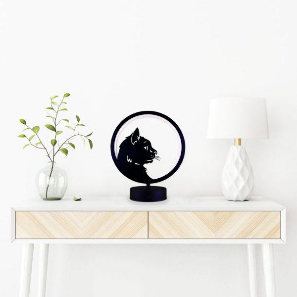 kedi(cat) model masa lambası