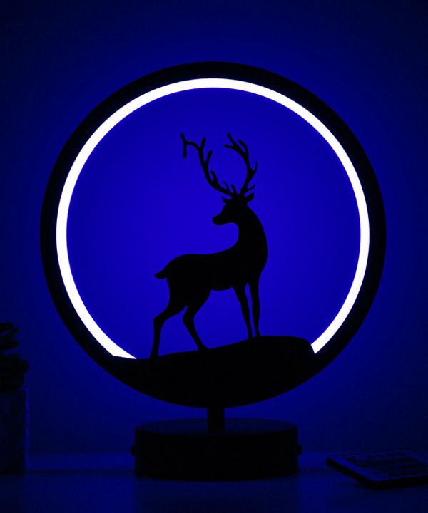 alageyik model masa lambası