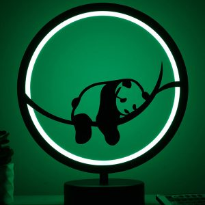 panda model masa lambası